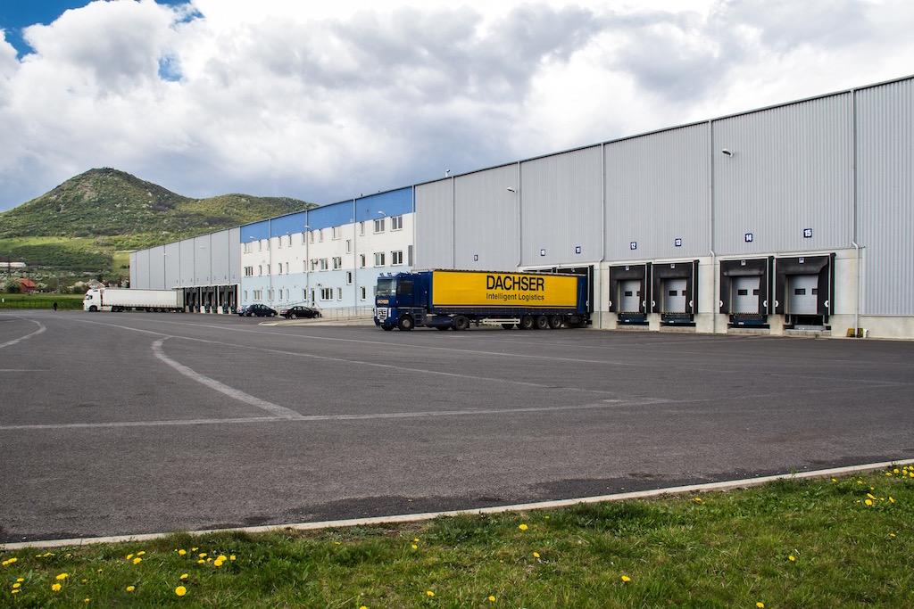 Successful sale of a logistics park