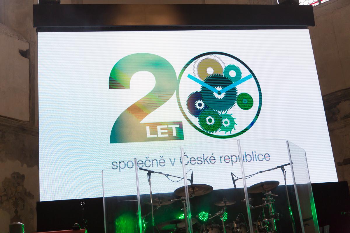 Oslava 20 let působení skupiny VGD v ČR